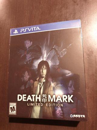 PS Vita - Death Mark - Edición Limitada precintada