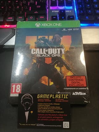 Call of Duty Black OPS 4 Xbox One Precintado