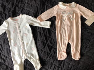 3-6 month sleepsuits