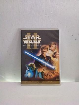 II El ataque de los clones Star Wars