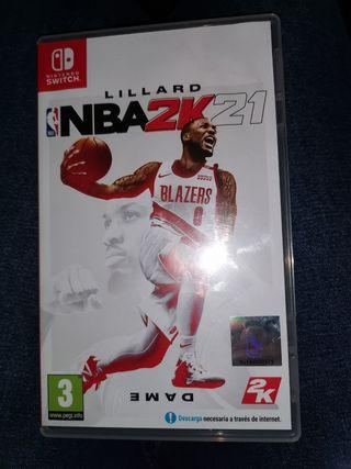 juego nintendo switch NBA2K21