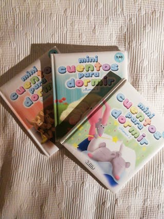 Mini Cuentos Para Dormir (los 1ros tres volúmenes)