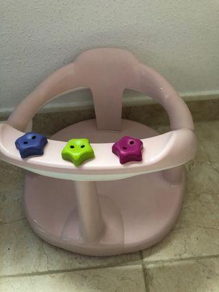 asiento de baño de bebé