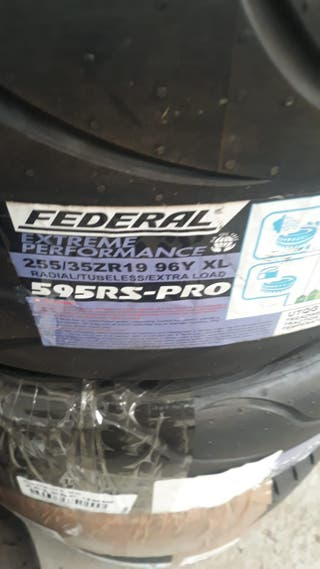 NEUMÁTICO FEDERAL 255/35 R19 96Y XL