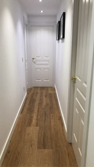 Montaje de suelos de tarima y parquet laminados