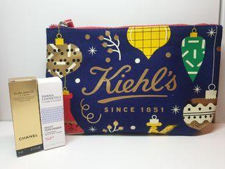 Neceser Kiehl's + Regalos Chanel y Derma Cosmetics