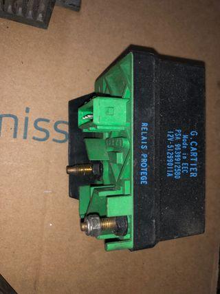 Caja calentadores Peugeot Citroen