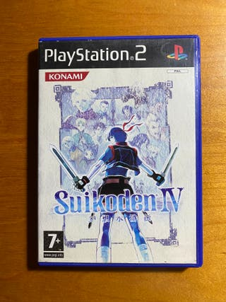 SUIKODEN IV 4 (PS2)