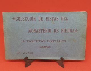 Postales antiguas Monasterio de Piedra