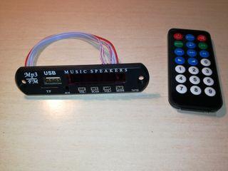 Amplificador/Reproductor MP3