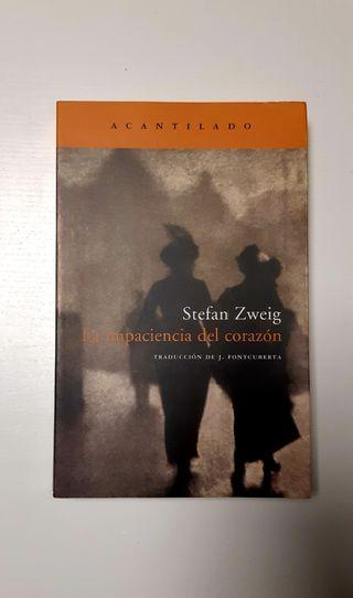 La impaciencia del corazón. Stefan Zweig.