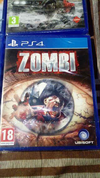 Juego ZOMBI PS4 PlayStation 4 y 5