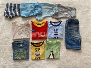 Lote de ropa verano talla 12 18 meses
