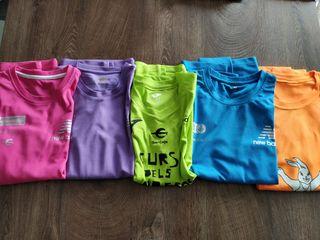 5 camisetas de manga larga
