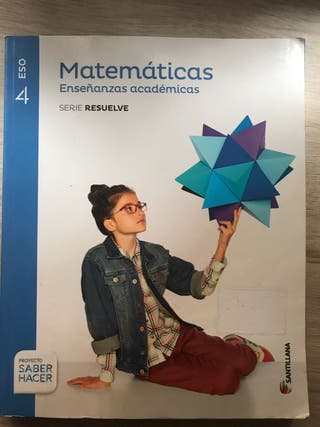 Matemáticas 4 ESO SANTILLANA