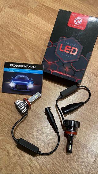 Bombillas LED H11/H8/H9 nuevas