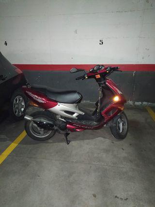 moto 50cc Peugeot