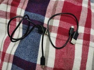 Cables USB cortos