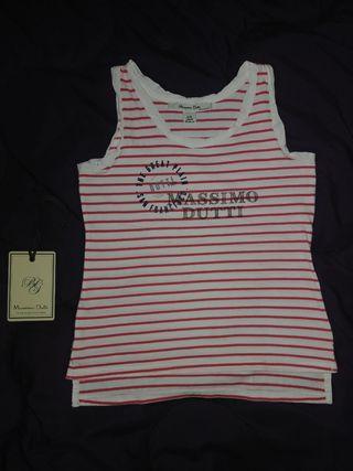 Camiseta tirantes niña Massimo Dutti Talla 5 años