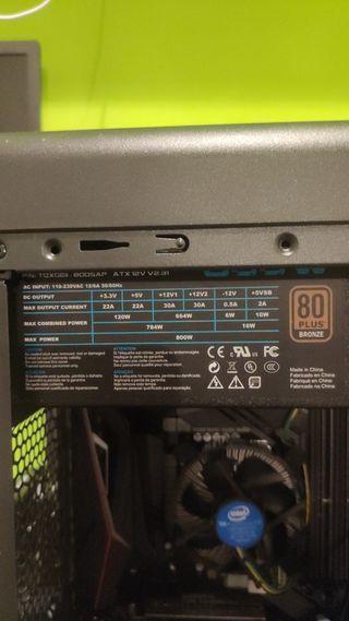 ordenador intel i7 8700