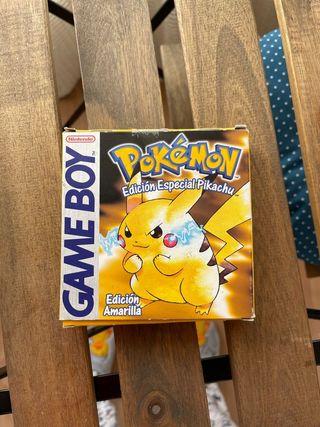 Pokémon edición amarilla