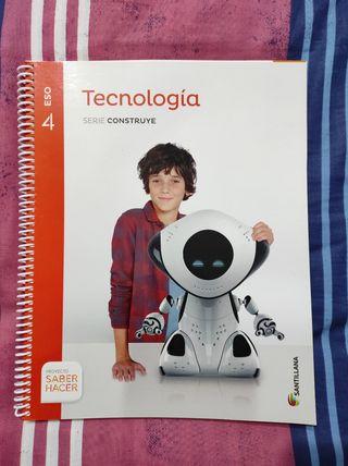Libro Tecnología Santillana 4 ESO