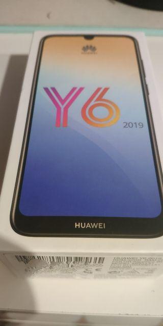 Huawei Y6 (2019) a estrenar