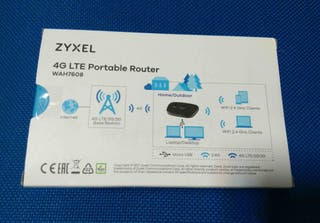ZYXEL MIFI Router Pro 4G LTE NUEVOS