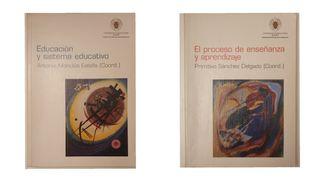 Lote 2 libros de pedagogía