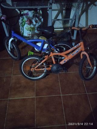 bicicletas niño o niña
