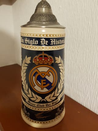 Jarra centenario Real Madrid. Producto Oficial.