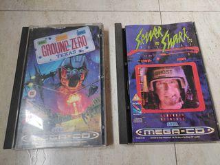 Lote 2 juegos Mega CD