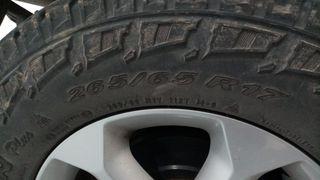 2 Pirelli Scorpion A/T Plus 265/65/R17 (Delantero)