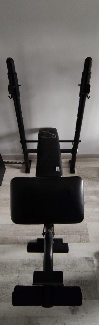 press banca multifuncion (pecho,piernas,brazos)