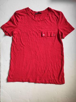 Camiseta Zara roja S