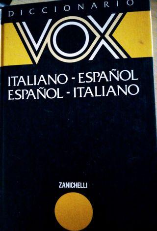 diccionario box español y italiano