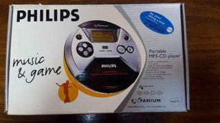 Philips Portable CD-MP3 Player Nuevo