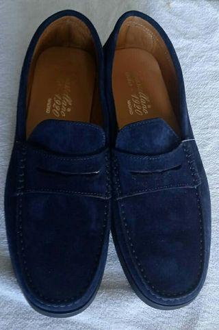 Zapatos mocasines, castellano,