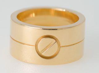 Anillo Cartier Love de oro de 18 kt
