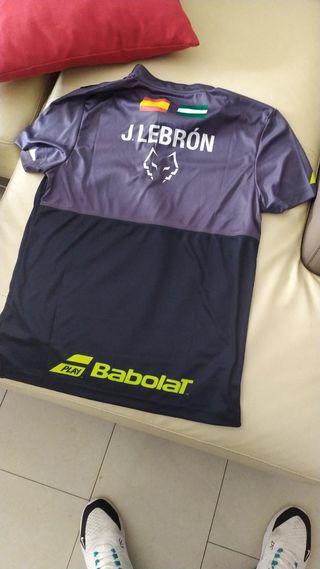 Camiseta original Juan Lebron Play Babolat