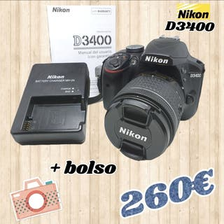 camara reflex nikon D3400