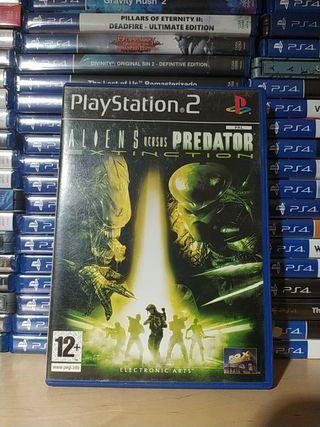 Aliens vs predator Extinction ps2