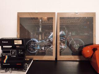 Composición Harley Davidson custom