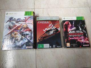 Lote ediciones coleccionista Xbox 360