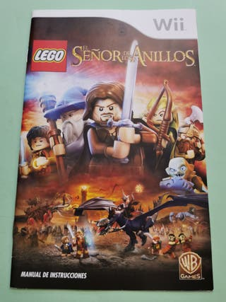 Lego El Señor de los Anillos MANUAL Wii