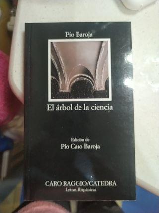 Libro el Árbol de la ciencia de Pío Baroja