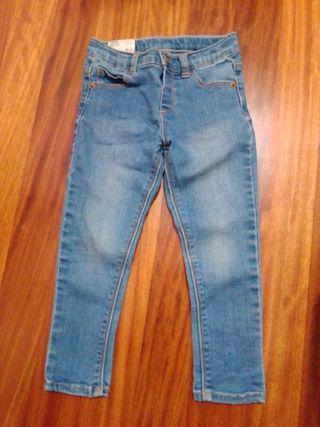 Pantalones niña talla 98