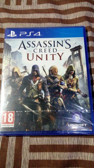 Assassins Creed UNITY PS4 NUEVO PS5