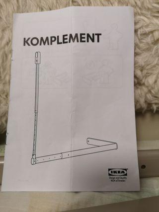 BARRA ADICIONAL EXTENSIBLE IKEA