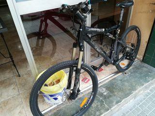 bici rockrider 9.2 doble suspensión